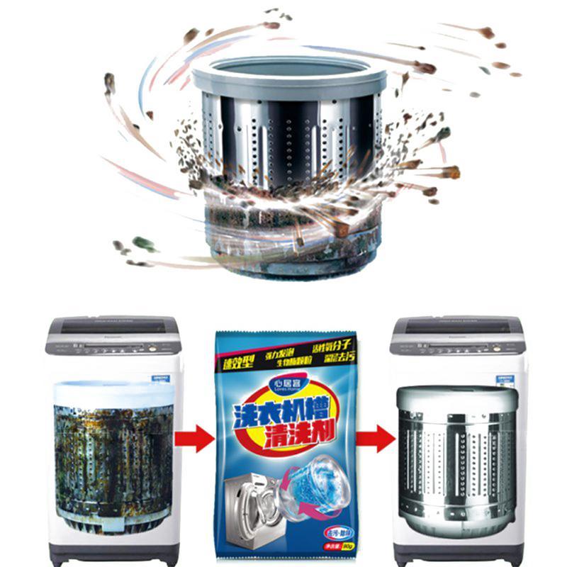 Kitchen Washing Machine Cleaner Supplies Effective Decontamination Washing 90g Machine Tank Cleaning Agent in Washing Machine Cleaner from Home Garden