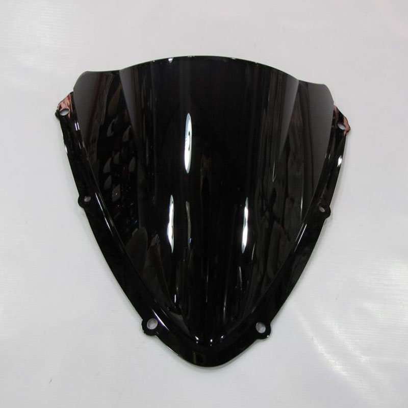5 Color Windshield For <font><b>2008</b></font> 2009 2010 <font><b>Suzuki</b></font> <font><b>GSX</b></font>-R <font><b>600</b></font> 750 K8 gsxr600 gsxr750 Screen Double bubble Front Motorcycle Accessories image