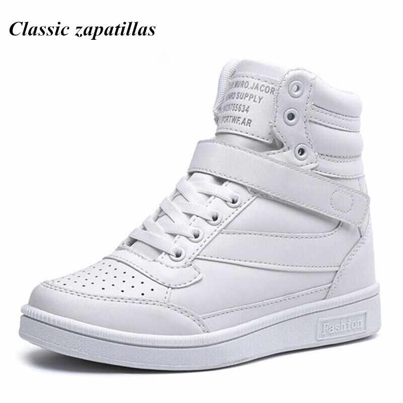 1e7064c0fbc6 Classic zapatillas Spring Autumn Women Casual Platform Shoes High Heels  Shoes Woman Ankle Boots Height Increasing
