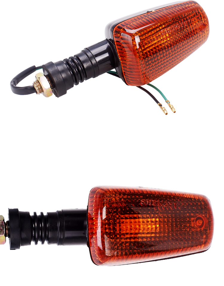 Motorcycle Turn Signal Indicator Light Turning Amber Bulb Blinker Flash Lamp For Yamaha XJR400 XJR1200 XJR1300 FZR250 FZR400