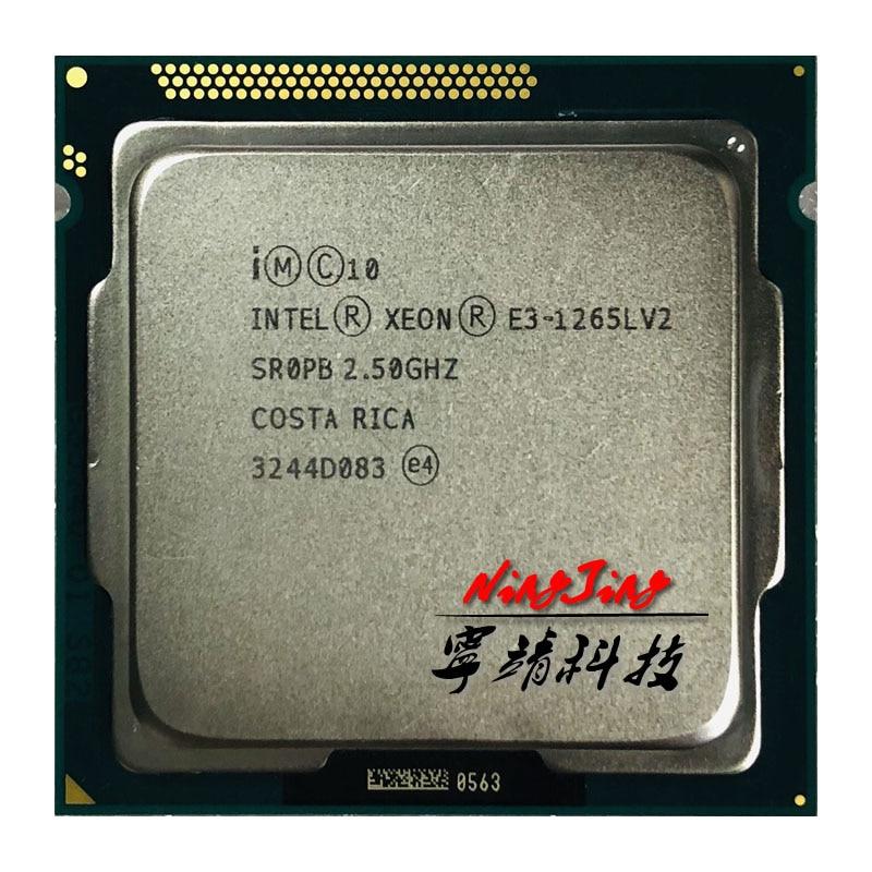 Intel Xeon E3-1265L V2 E3-1265LV2 2.5GHz 8MB LGA1155 Processer