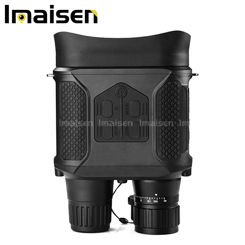 Wide field of view special telescope high performance digital HD 7x31 infrared black full hunting night vision binoculars