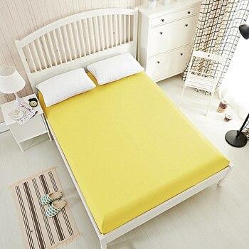 Одноцветная простыня, простыня King, простыня, постельное белье, покрывало для матраса, белый, серый, черный, желтый 20