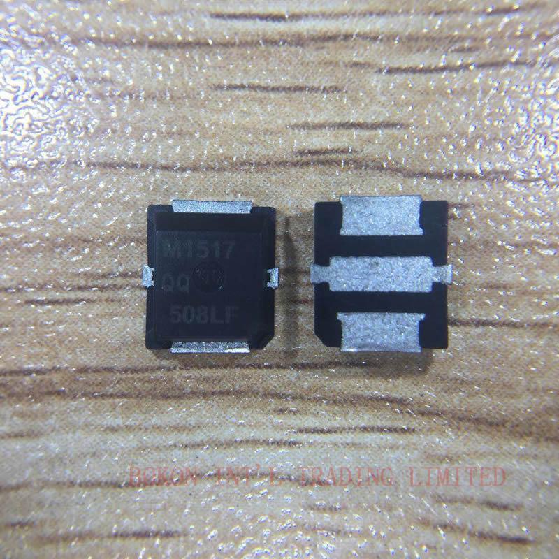 MRF1517NT1 MRF1517T1 M1517 1517N 1517 RF POWER FIELD EFFECT TRANSISTOR 520MHz 8W 7.5V LATERAL NCHANNEL BROADBAND RF POWER MOSFET