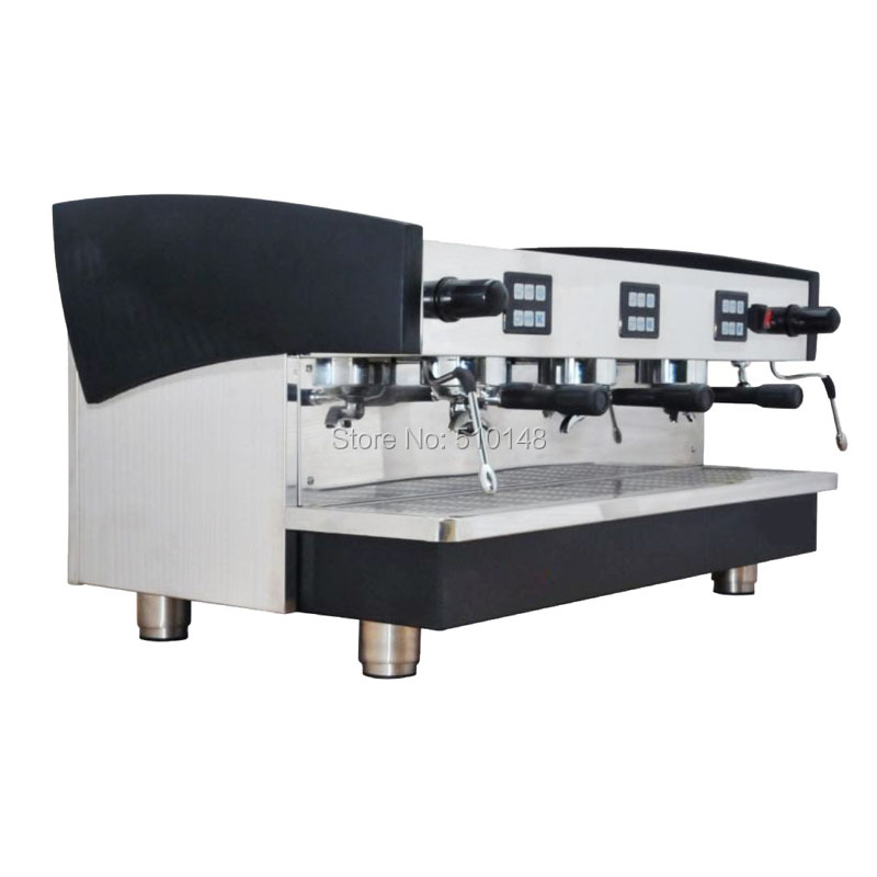 KT 16.3 Wholesale 3 group professional commercial coffee machine espresso maker cafe machine coffee processing equipment