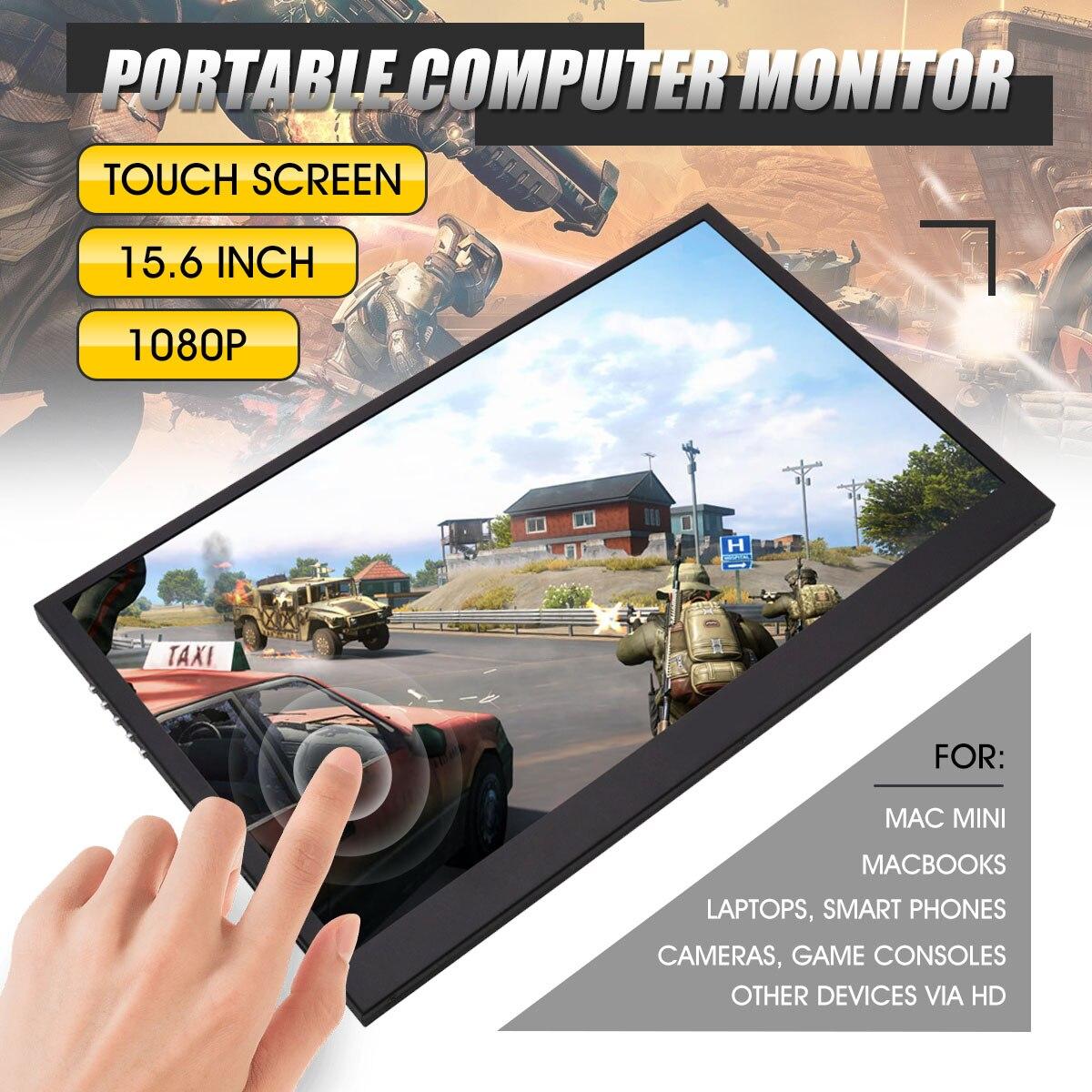 Multi-fonction pratique 11/13. 3/15. affichage Portable haute définition HDMI 6 pouces 1080 p écran de surveillance étendu PS3/PS4/XBOX