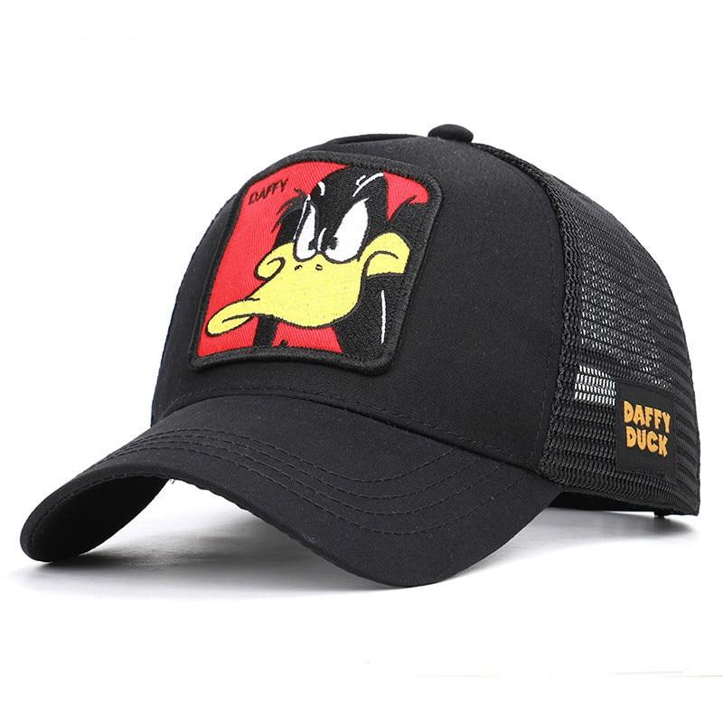 New   baseball     cap   Cotton Men And Women Animal Embroidery Series   Baseball     Cap   Season Sunshade Truck Net   Cap