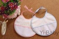 Free shipping Baby waterproof bib Infant saliva towels Burp Cloths Cross stitch bib Baby bib 100pcs
