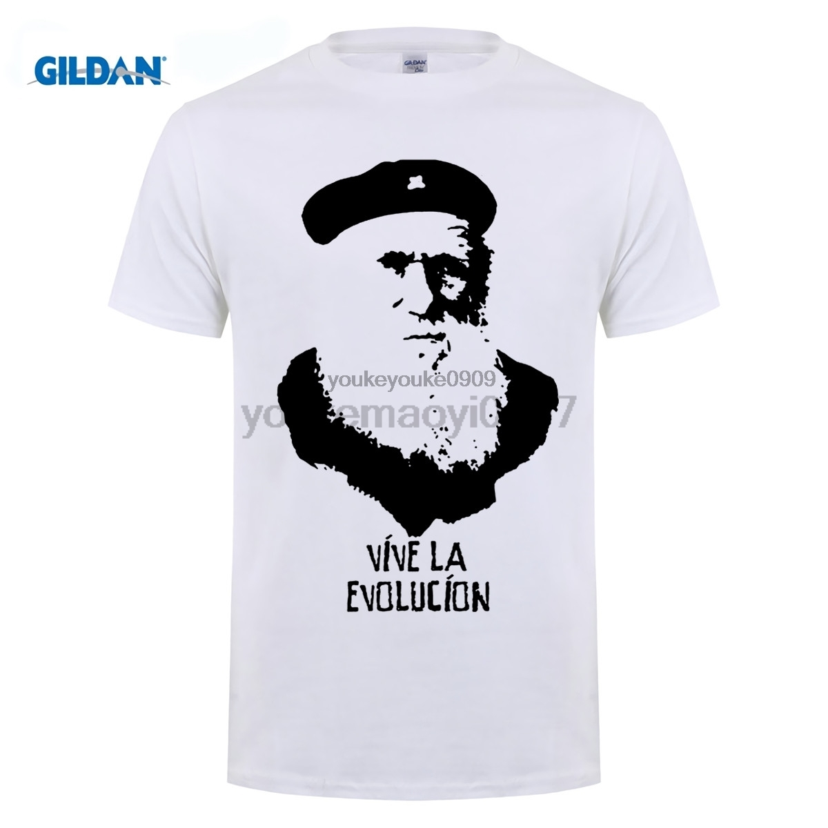 GILDAN Charles Darwin Evolution T-Shirt 100% Cotton Origin Of The Species Atheist Cool Casual Sleeves T Shirt Fashion