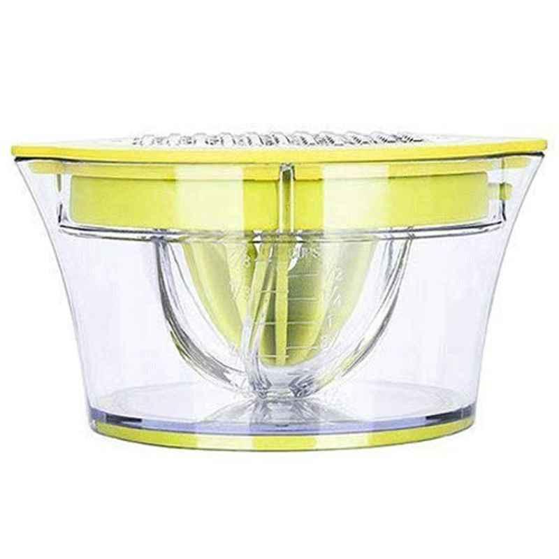 Espremedor de citrinos Laranja Limão Espremedor Manual Mão Espremedor Com Embutido Copo De Medição E Ralador