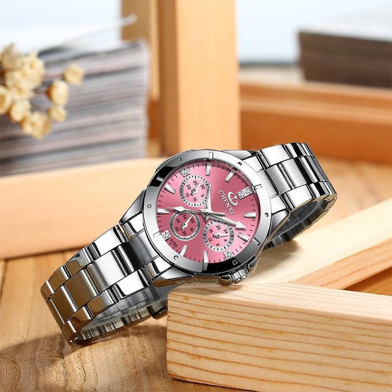 NEW Women's Watches Casual Quartz Steel