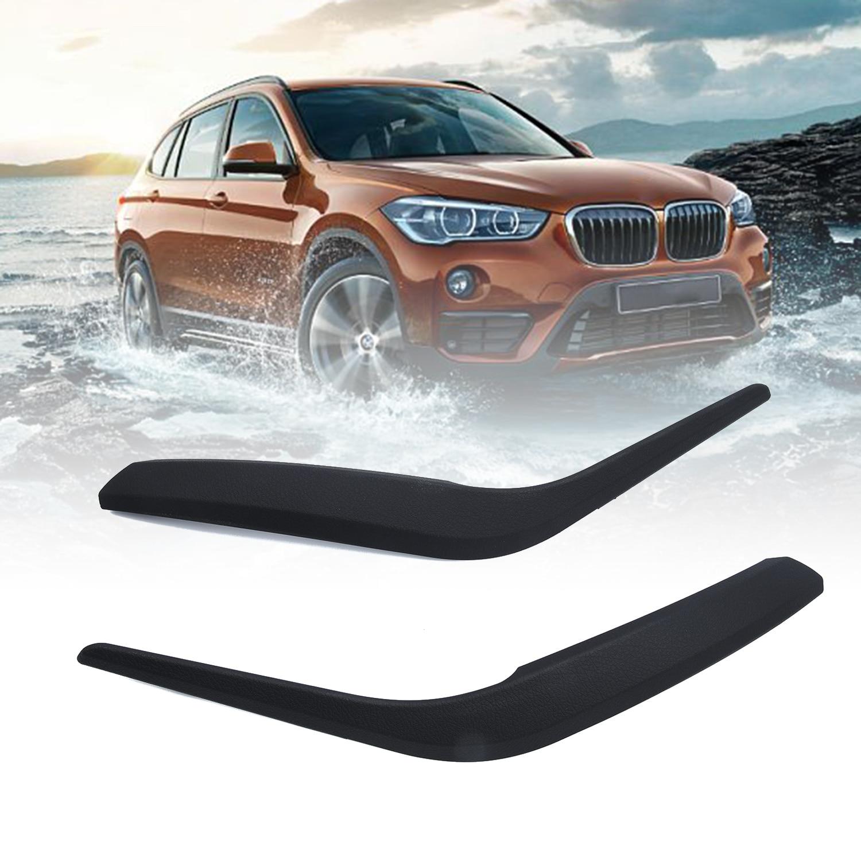2 pièces voiture Auto porte intérieure panneau poignée tirer revêtement d'habillage pour BMW X1 E84 2010-2016