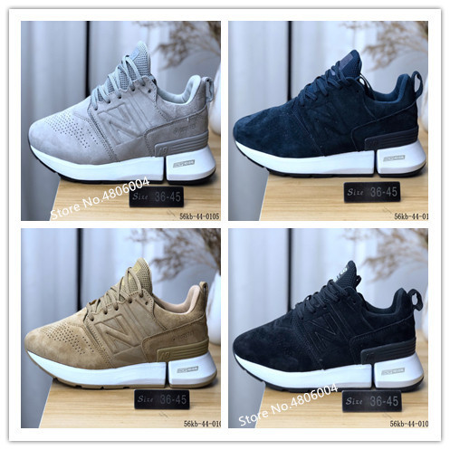 New Balance  MSRC1HE 2019 Original Men Women Sneakers Retro Running Shoes Real Leather 4 Color Eur36-45