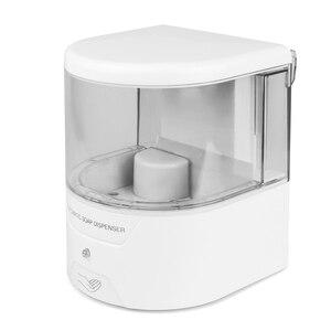 Image 5 - Dispensador de jabón automático con Sensor IR de montaje en pared, sin contacto, surtidor de loción y jabón para cocina y baño, con batería de 600ml