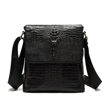 Купить с кэшбэком Luxurious Men Briefcase Genuine Leather Business Bag Real Cow Leather Laptop Shoulder Bag Men's Messenger Crossbody Travel Bags