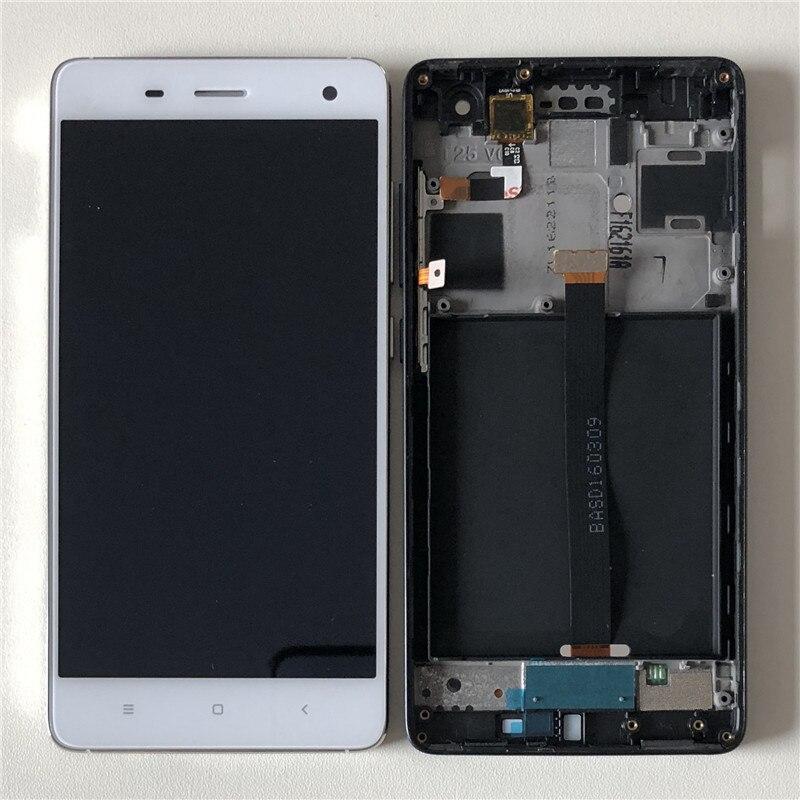 D'origine M & Sen Pour 5.0 Xiao mi mi 4 mi 4 M4 LCD écran affichage + tactile panneau digitizer avec cadre Pour Xiao mi mi 4 mi 4 M4 affichage