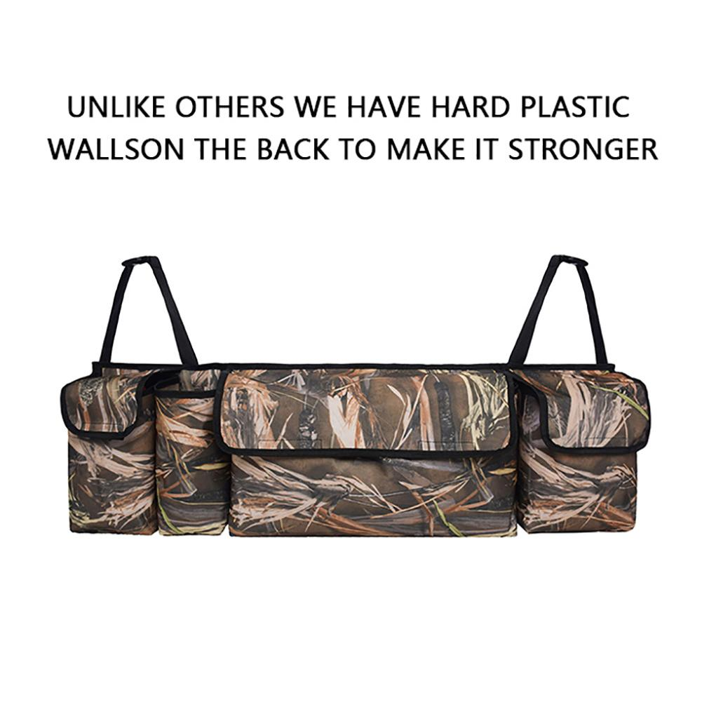 Image 4 - Trunk Backseat Car Organizer Camouflage Large Capacity 600D Oxford Cloth Traveling Car Trunk Storage Bag Auto Accessories-in Stowing Tidying from Automobiles & Motorcycles