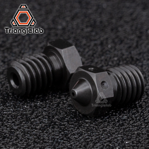Image 2 - trianglelab 1PCS Top quality A2 Hardened Steel V6 Nozzles for printing PEI PEEK or Carbon fiber filament for E3D HOTEND