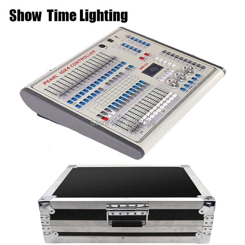 Show Time Mini Pearl 1024 Controller With Flycase Package With Fase Wave For Moving Head Light Led Par Professional Stage Light