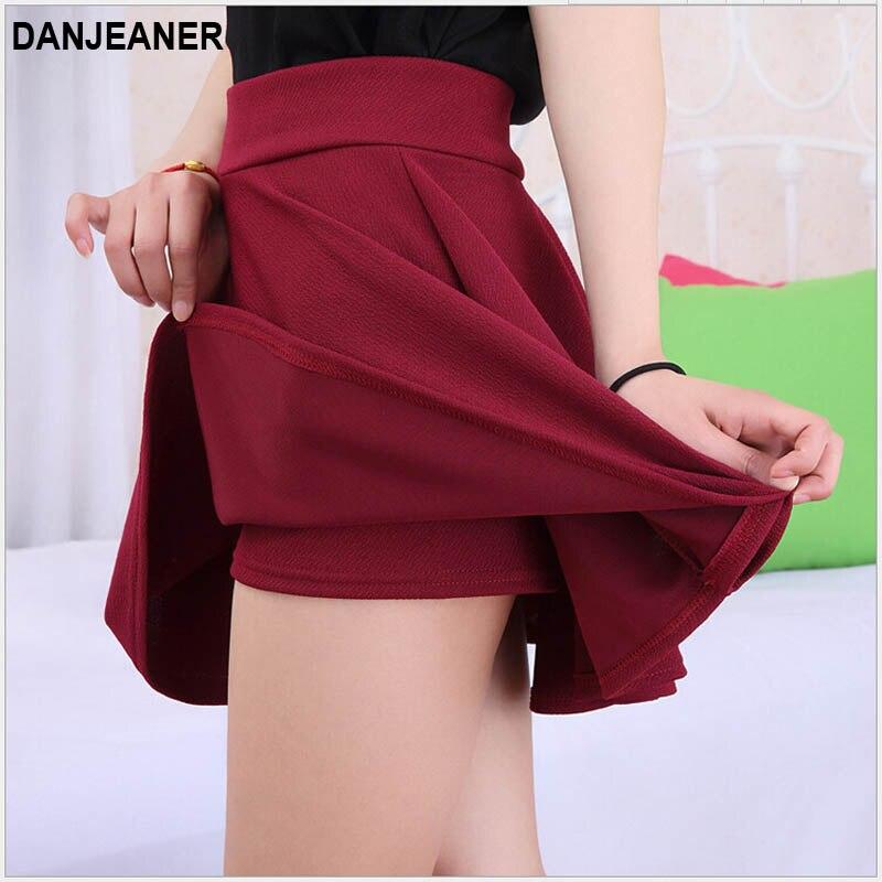 2015 Heißer Frauen Büste Shorts Rock Hosen Plissee Plus Größe Mode Candy Farbe Röcke 9 Farben C718 Wir Nehmen Kunden Als Unsere GöTter