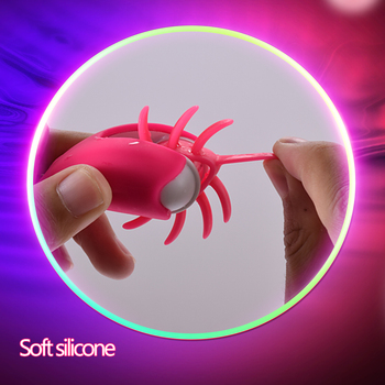VATINE Rotation Oral Tongue Licking Penis Vibrating Ring G-spot Massage Vagina Clitoris Stimulate Vibrator Sex Toys for Couples 3