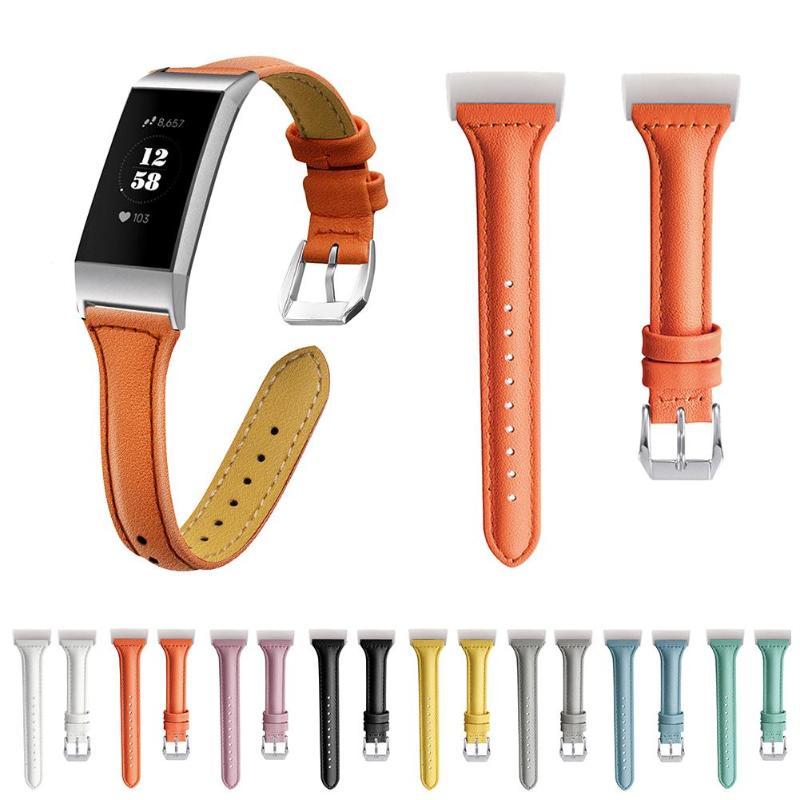 Кожаный ремешок для Fitbit Charge 3 браслет наручный ремень ремешок для Fitbit Charge 3 сменные аксессуары
