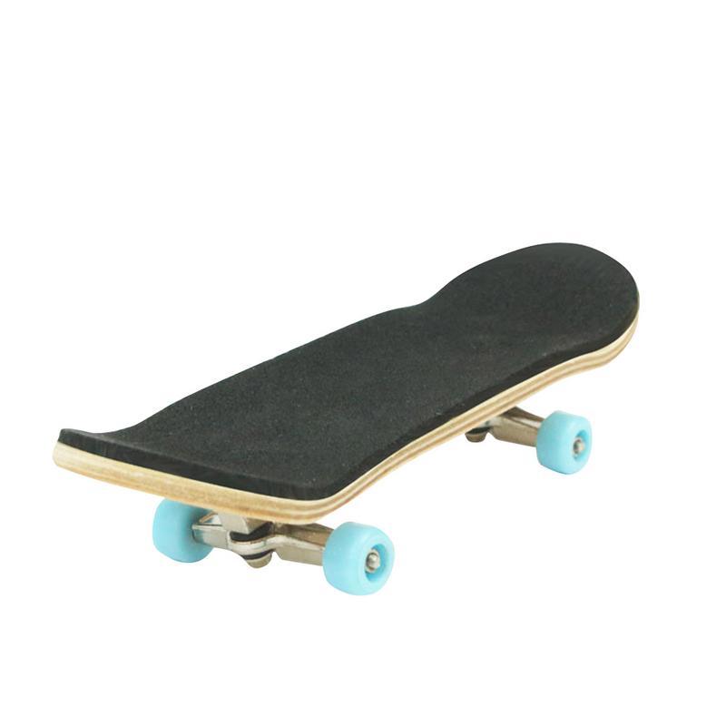 1pc Creative Complete Wooden Professional Mini Finger Fingerboards Skateboard  Skate Boarding Cute Sport Games Kids Gift