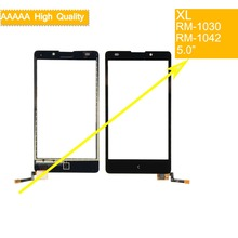 10Pcs/lot For Nokia XL Dual Sim RM-1030 RM-1042 Touch Screen Touch Panel Sensor Digitizer Front Glass Outer Lens Touchscreen 4 7 inch touchscreen for htc desire 526g dual sim touch screen panel digitizer glass lens repair replacement free shipping