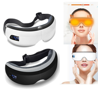 Smart Bluetooth Music Eye Massager Air Pressure Hot Compress Dark Circles Remove Magnetic Far infrared Protect Eyesight Eye Care