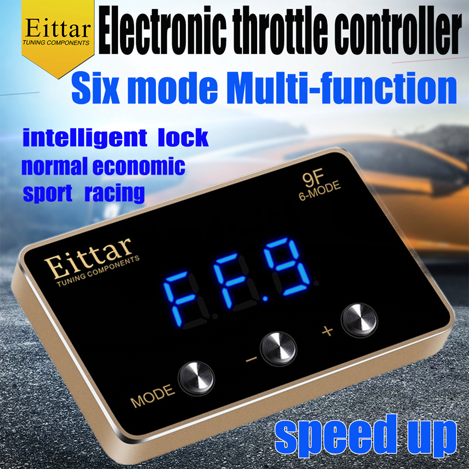 Eittar 電子スロットルコントローラのアクセラレータダッジグランドキャラバン 2008 +