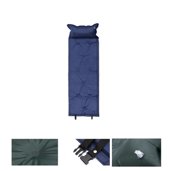 Self Inflating Camping Roll Mat Sleeping Bed Inflatable Pillow Mattress 1