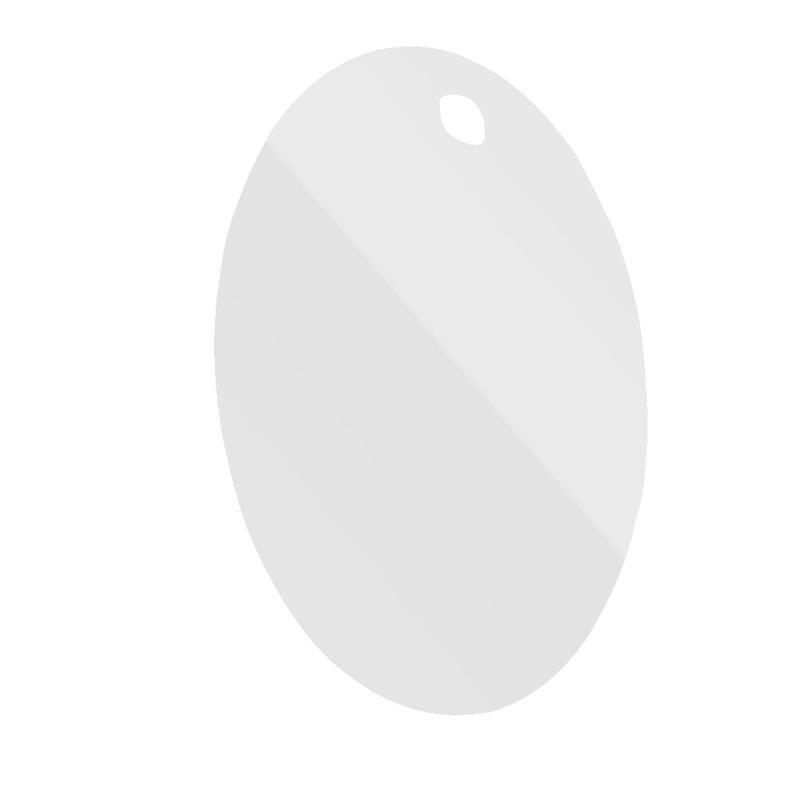 Professionelles Design Anti-nebel Fogless Dusche Spiegel Rasieren Spiegel Leicht Zu Reinigen Badezimmer Waschraum Hängen Up Spiegel ovale Form