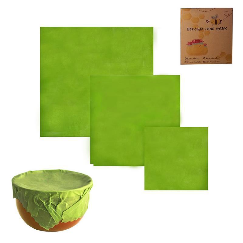 Reusable Food Beeswax Plastic Wrap Organic Durable Food Wrap