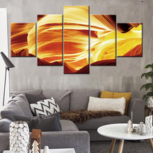 Modern HD Printed Painting Canvas Home Decor 5 Panels Nordic Abstract Landscape Posters Wall Art Frame Modular Pictures .
