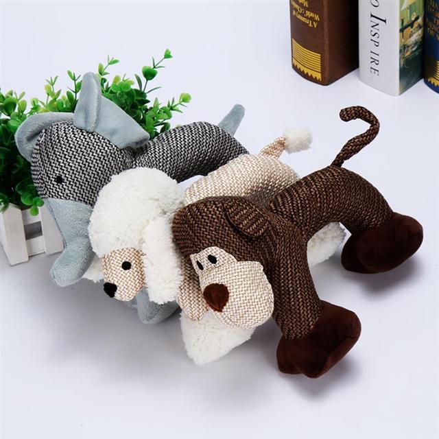 Собака, Игрушки для маленьких больших собак Укус устойчивостью собака крякающий утенок игрушки интерактивные писк игрушка для щенка животных