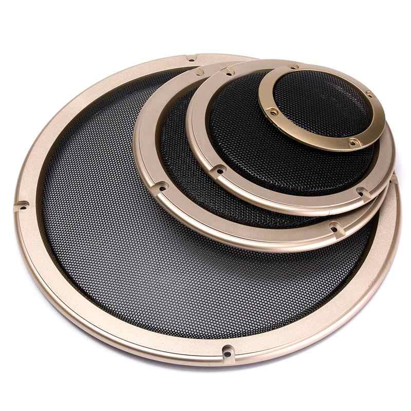 LEORY 3/5/6.5/10 inch Grille Speakers Protective Cover Car Speakers Power Amplifier Decorative Circle Unit Net Cover
