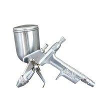 1pc Mini Car Spray Gun 0.5mm Nozzle 200ml Air Paint Guns Airbrush For Painting Aerograph Red Green Silver White