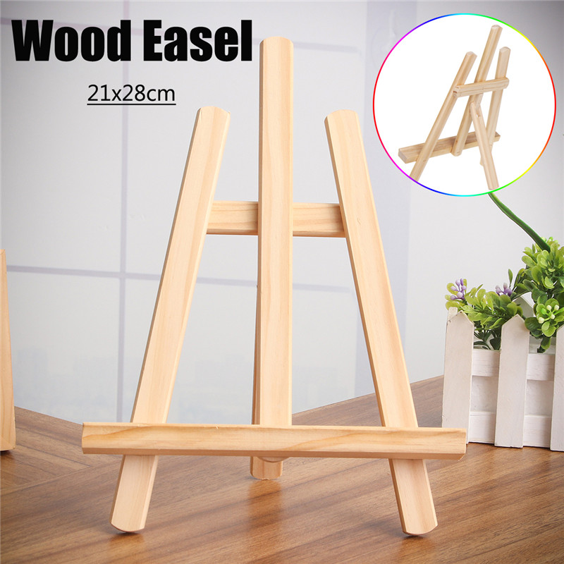 Office & School Supplies 1pcs Mini 220mm Size Table Top Display Beech Plastic Artist Photo Art Easel Stand Craft Holder For Party Decoration