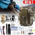 89Pcs/Set SOS Emergency Camping Survival Equipment Outdoor Gear Tactical Tool Security First Aid Lightweight Versatile Portable
