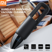 Xiaomi Cleanfly FVQ Handheld Vacuum Cleaner Portable Car Wireless Mini Cleaner Charger 2 In 1 Nozzle With LED Light HEPA Filter