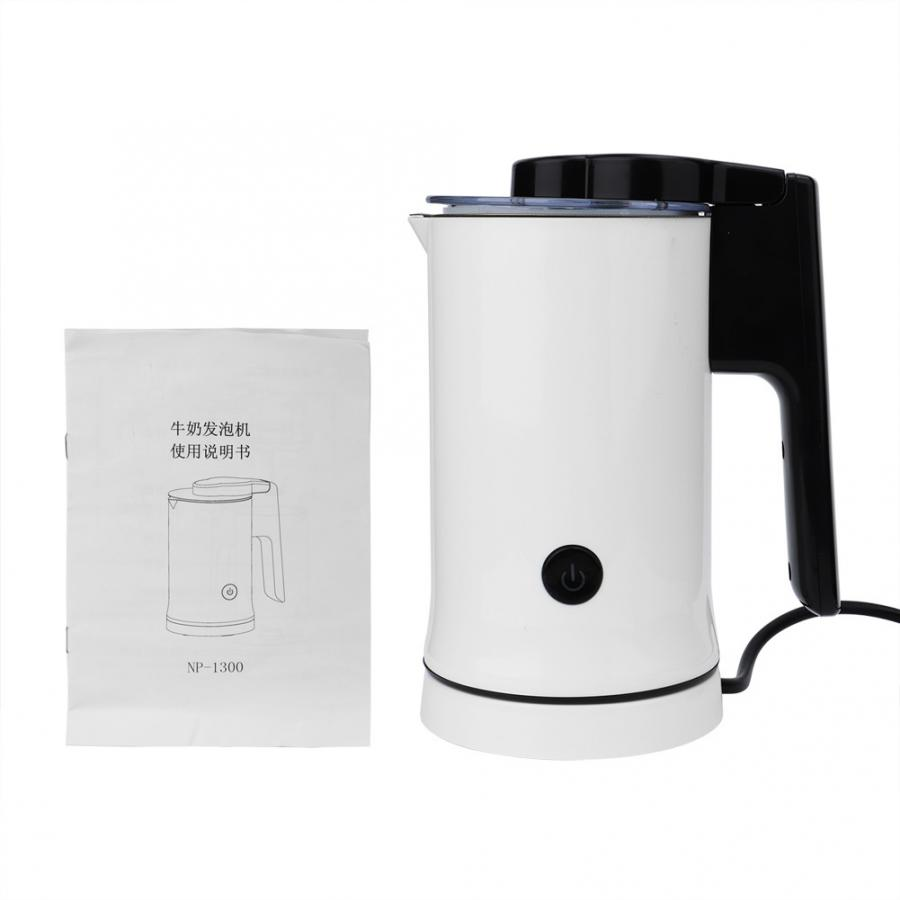 Milk Frother Electric Non-Stick Milk Frother Steamer Warmer Hot or Cold Milk Espumador de LecheMilk Frother Electric Non-Stick Milk Frother Steamer Warmer Hot or Cold Milk Espumador de Leche