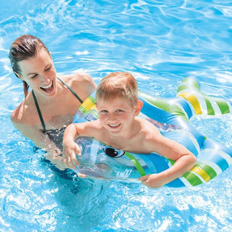 Baby Swimming Ring Inflatable Pool Float Safety Training Swimming Circle Flamingo Water Fun Toys For Children