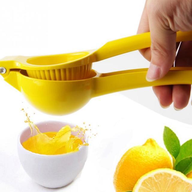 20*6*4CM outils de cuisine citron presse-agrumes en alliage d'aluminium Orange presse-agrumes jus de fruits alésoirs poignée rapide presse outil multifonctionnel 2