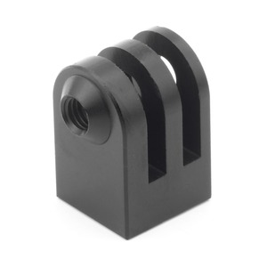 Image 3 - Cnc Aluminum Alloy Mini Tripod Mount Outdoor Sports Camera Base Adapter For All 1/4 Inch Screw Monopod Accessory