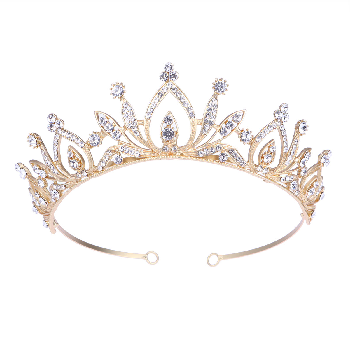 3Pcs Shiny Crown Hairband Vintage Women Headbands Princess Girl Crown Headband for Baby Girl Party Wedding Photography Accessories