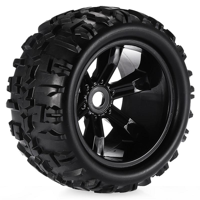 RC Car Off Road 1/8 Monster Truck Bigfoot Tyre Tires 17mm Hex Wheel For Traxxas HSP RC Trucks Car Rubber Tyre Parts