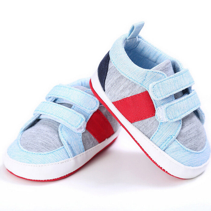 Infant Baby Shoes Boys Girls Soft Sole Sneaker Crib Shoes Size For 3-18month