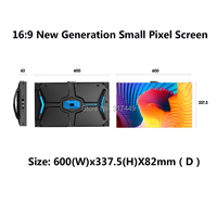 P1.56 P1.66 P1.875 wide viewing angle small pixel led display wall