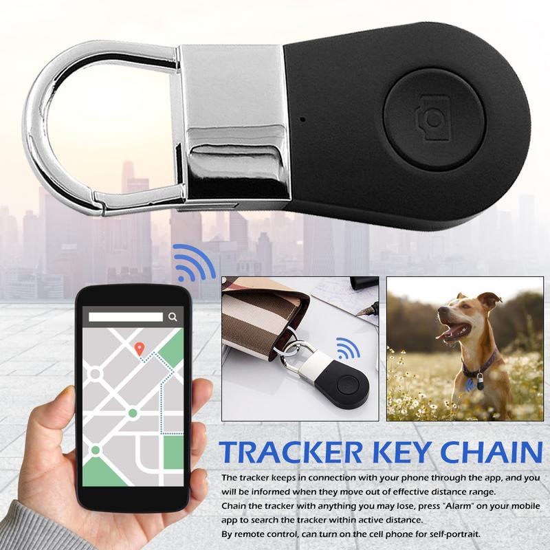 Tragbare Bluetooth Anti-verloren Gerät Finden Artefakt Mobile Brieftasche Keychain Anti-verloren Erinnerung Druck Smart Aktivität Tracker Intelligente Elektronik Unterhaltungselektronik