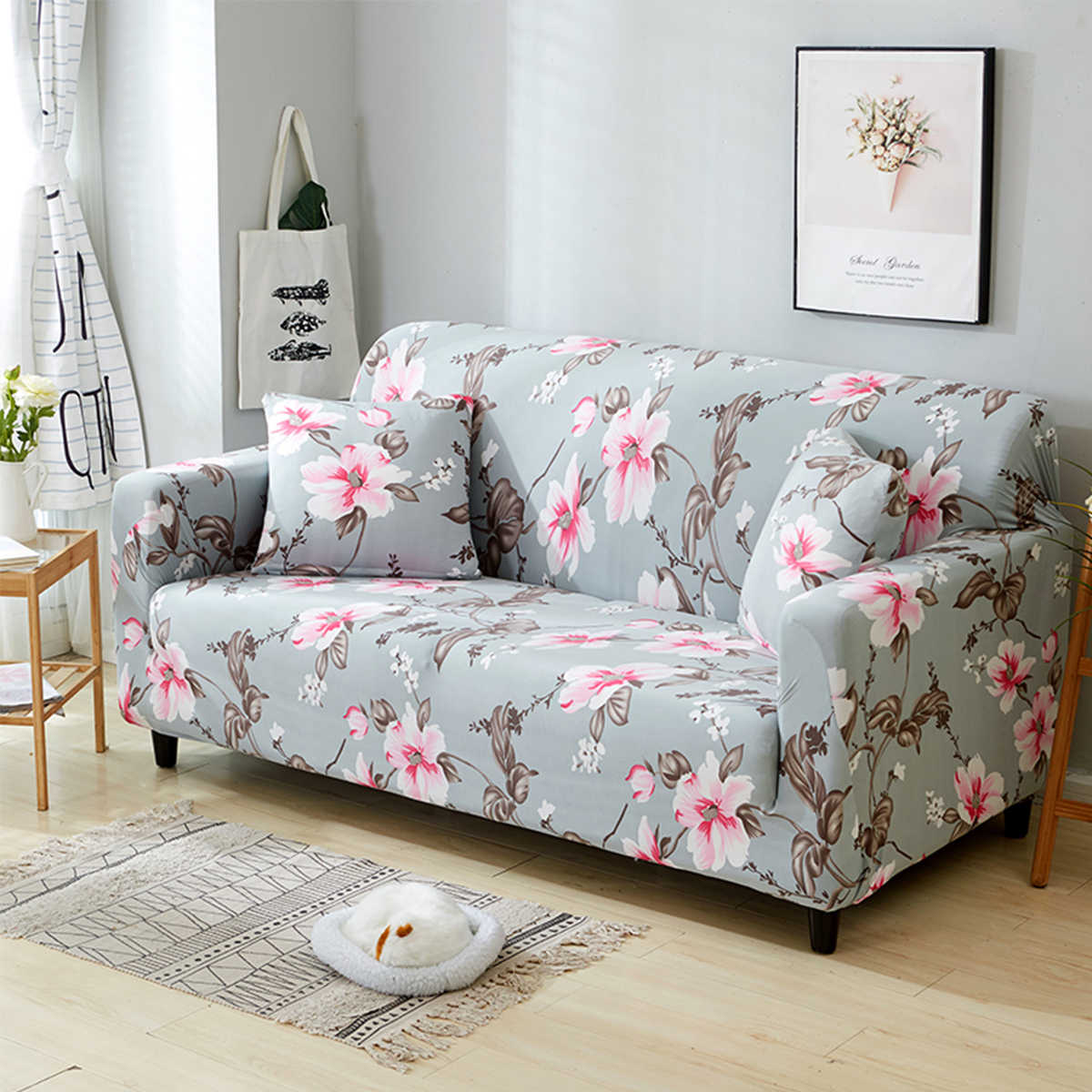 Enjoyable 1 2 3 4 Peony Seater Sofa Funiture Cover Chair Couch Protect Caraccident5 Cool Chair Designs And Ideas Caraccident5Info